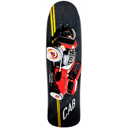 Powell Peralta Pro Caballero Red Hot Rod Skateboard Deck - 9.16 x 32.68