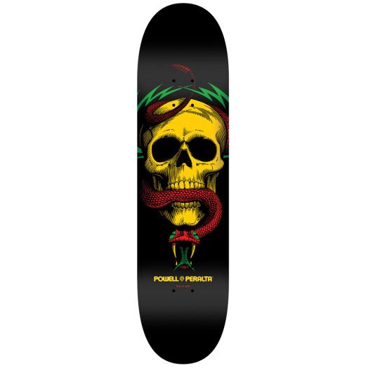 Powell Peralta LIGAMENT BL Skull & Snake 5 Skateboard Deck - 7.625 x 31.625