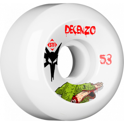 BONES WHEELS STF Pro Decenzo Dragon 53mm wheels 4pk