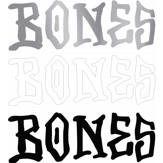 """BONES WHEELS Thermal Vinyl 6"""" Single"""