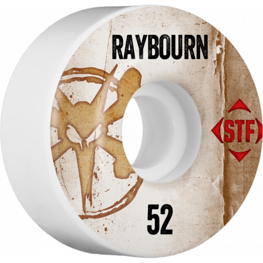 BONES WHEELS STF Pro Raybourn Team Vintage Wheel 52mm 4pk