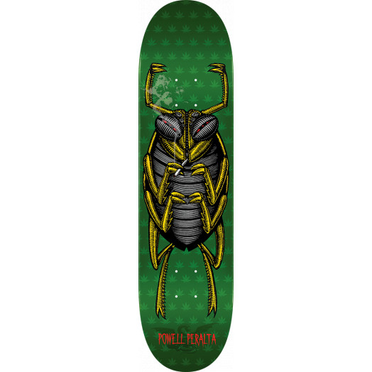 Powell Peralta Roach Skateboard Blem Deck Green - Shape 247 - 8 x 31.45