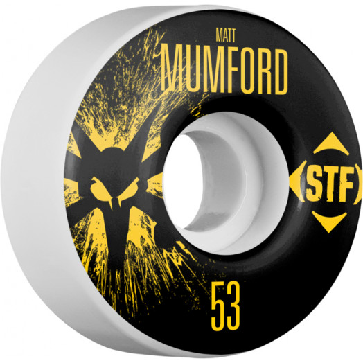 BONES WHEELS STF Pro Mumford Team Wheel Splat 53mm 4pk