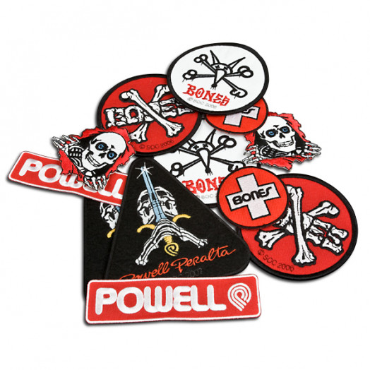 Skate One Assorted Patches (12 pack)