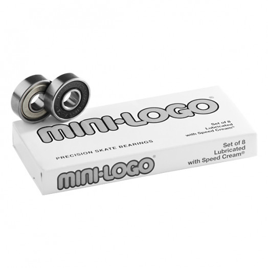 MIni Logo Skateboard Bearings (8 pack)