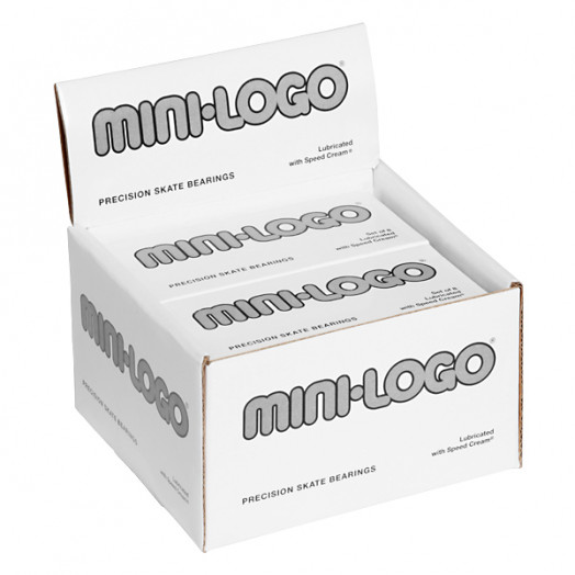 Mini Logo Skateboard Bearings (10 8 pack POP)