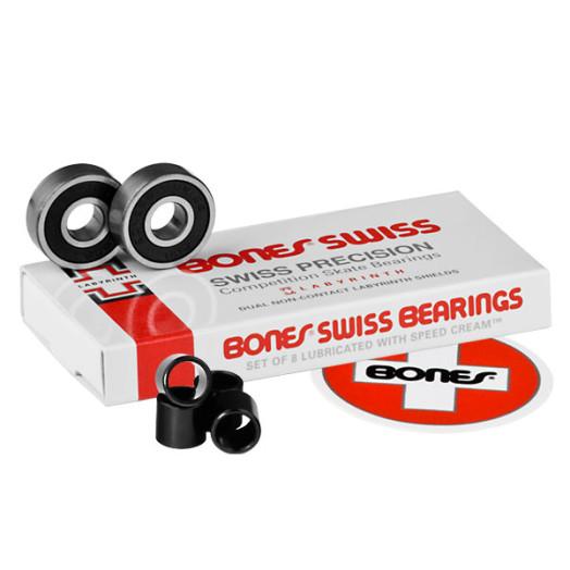 Bones® Swiss Labyrinth Bearings (8-Pack)