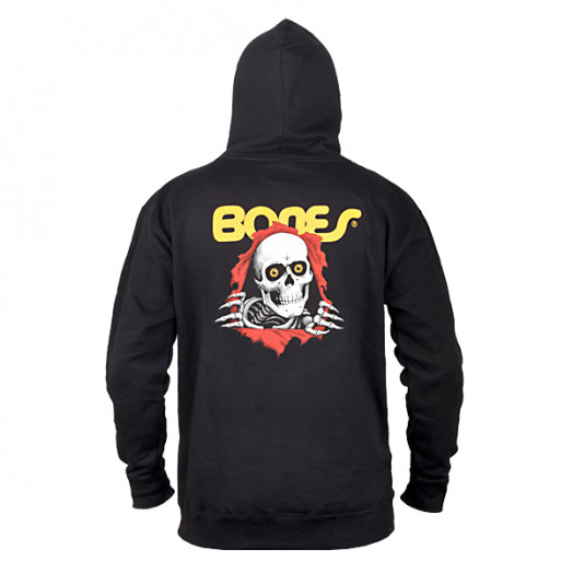 Powell Peralta Ripper Hooded Pullover - Black