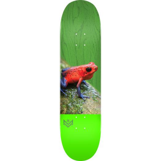 "MINI LOGO POISON ""16"" SKATEBOARD DECK 255 K20 TREE FROG - 7.5 X 30.70"