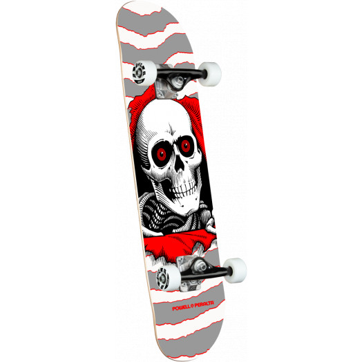Powell Peralta Ripper One Off Silver Birch Complete Skateboard - 8 x 31.45