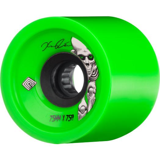 Powell Peralta Pro Kevin Reimer Skateboard Wheel 75mm 75A 4pk Green