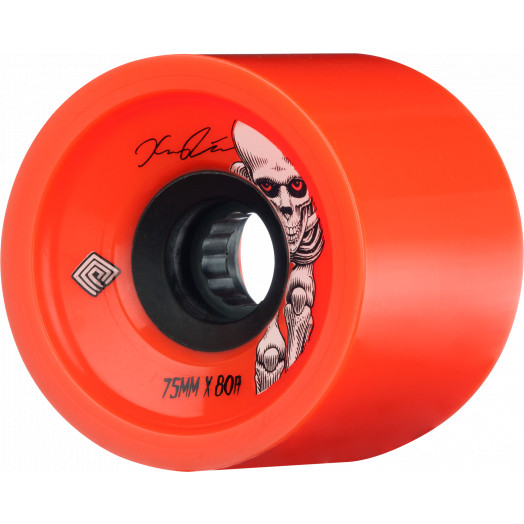 Powell Peralta Pro Kevin Reimer Skateboard Wheel 75mm 80A 4pk Red