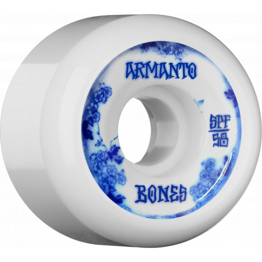 BONES WHEELS SPF Pro Armanto Blue China Skateboard Wheels P5 58mm 104A 4pk