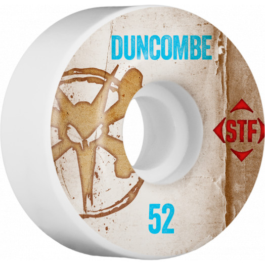 BONES WHEELS STF Pro Duncombe Team Vintage Wheel 52mm 4pk
