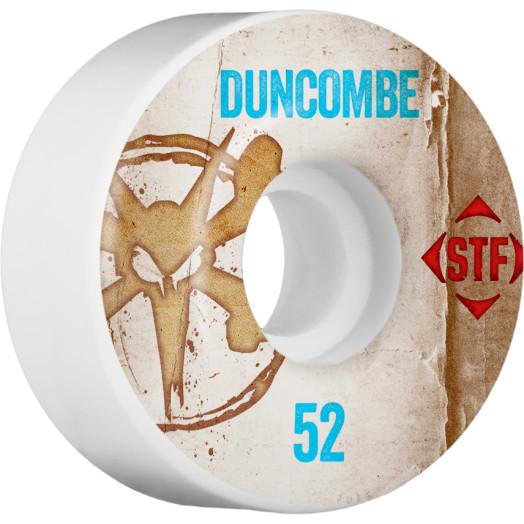 BONES WHEELS STF Pro Duncombe Team Vintage Wheel 52mm 4pk