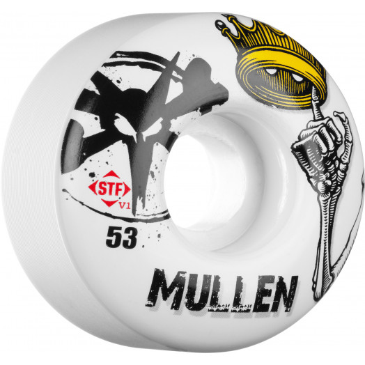 BONES WHEELS STF Pro Mullen Crown 53mm (4 pack)
