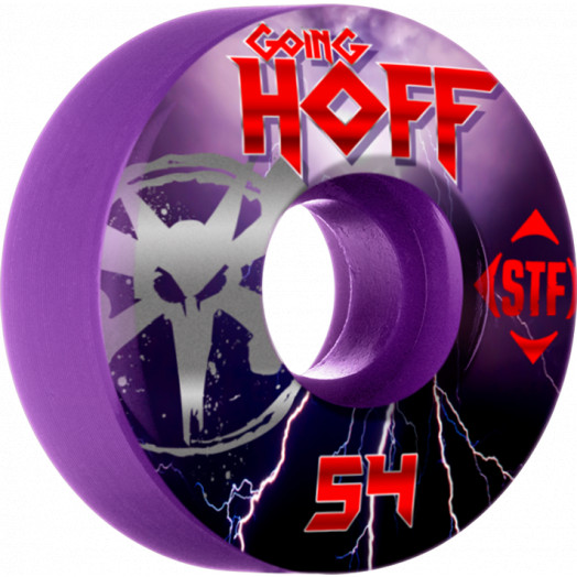 BONES WHEELS STF Pro Hoffart Go Hoff 54mm wheels 4pk