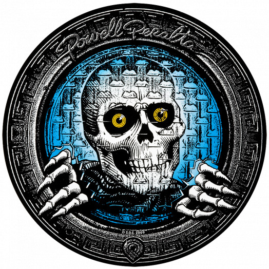 "Powell Peralta Pool Light Ripper 10""  Sticker (Single)"