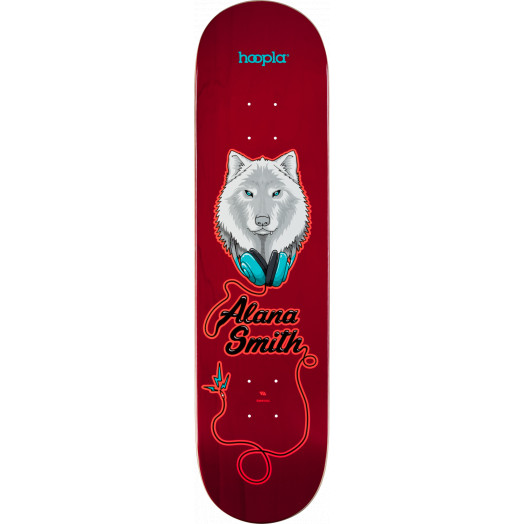 hoopla Pro Alana Smith Wolf 2 Skateboard Deck 112