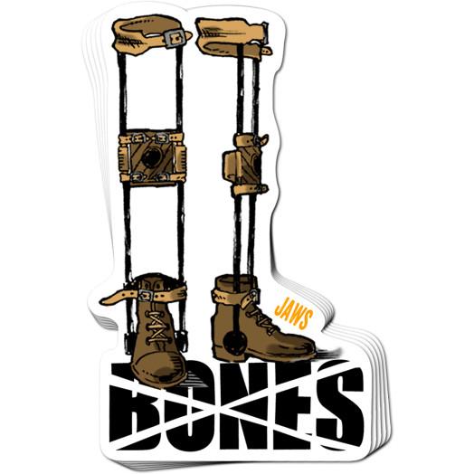 BONES WHEELS Homoki Retirement Sticker 20pk