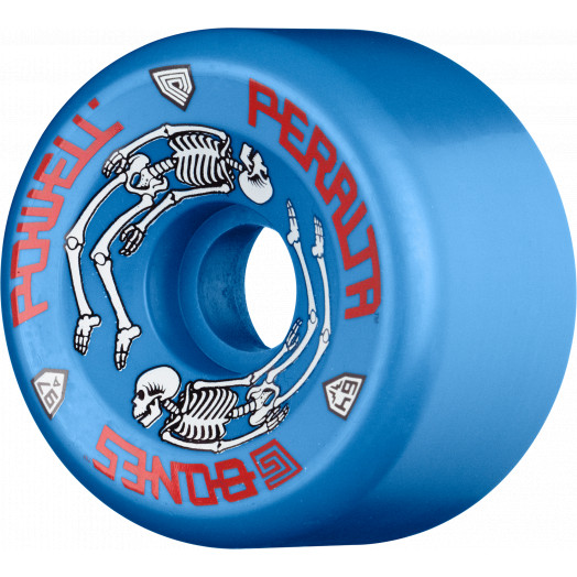 Powell Peralta G-Bones 64mm 97a - Blue (4 pack)