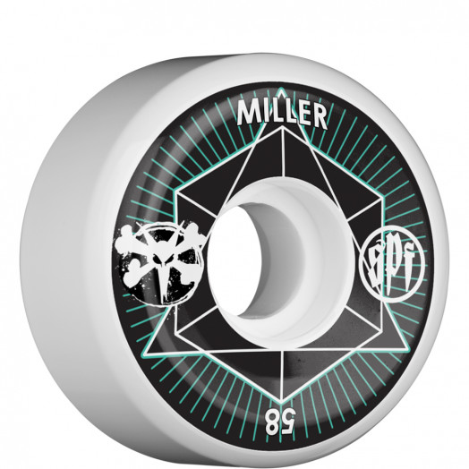 BONES WHEELS SPF Pro Miller Intersection 58mm (4 pack)