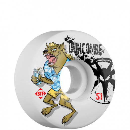 BONES WHEELS STF Pro Duncombe Devil 51mm (4 pack)