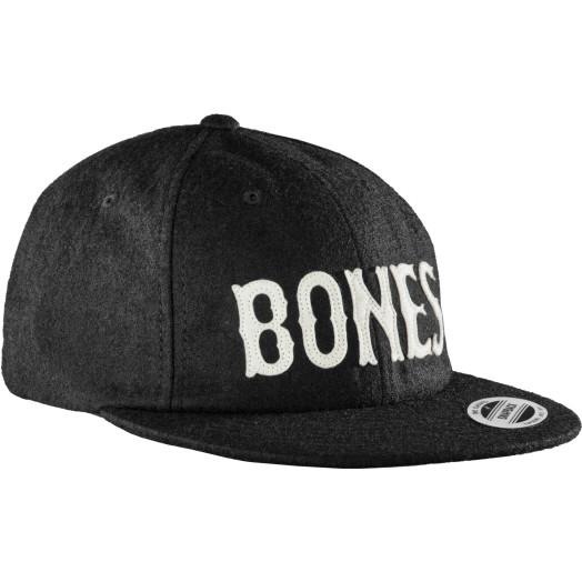 BONES WHEELS Cap Strapback Wooly Black