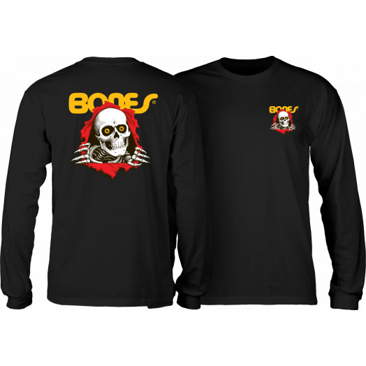 Powell Peralta Ripper L/S T-shirt - Black