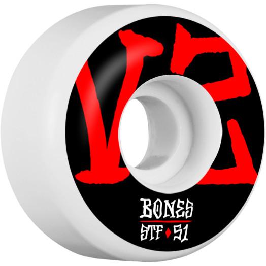 BONES WHEELS STF Annuals Skateboard Wheels V2 51mm 103A 4pk