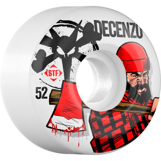 BONES WHEELS STF Pro Decenzo Brawny 52mm 4pk