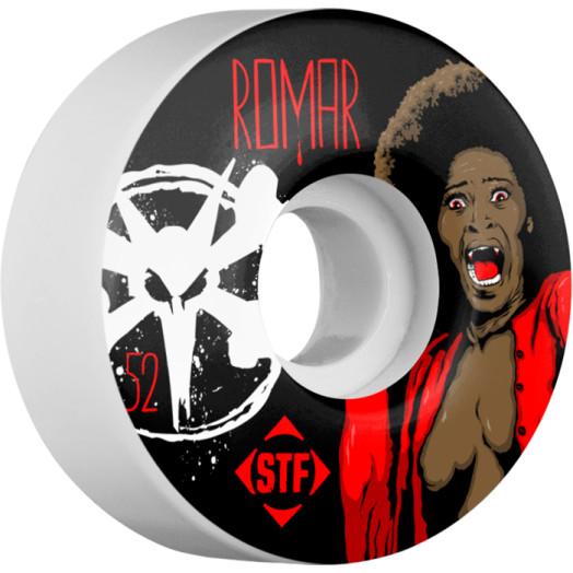 BONES WHEELS STF Pro Romar Blood 52mm wheels 4pk