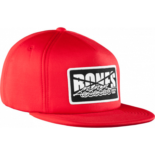 BONES WHEELS Cap Foam Trucker Red