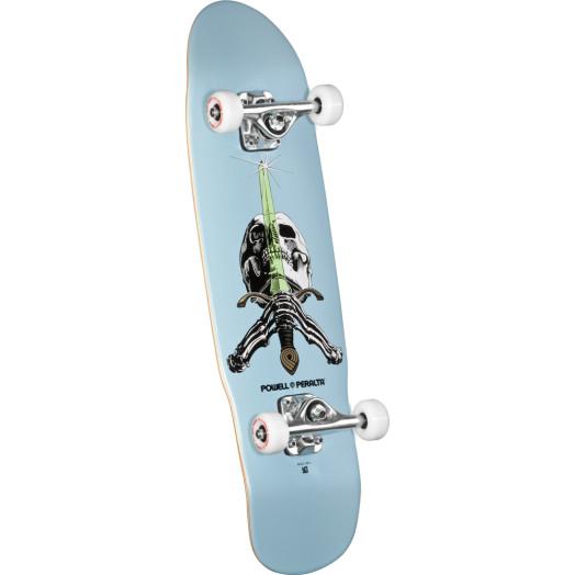 Powell Peralta Mini Skull & Sword 3 Complete Skateboard - 8 x 30