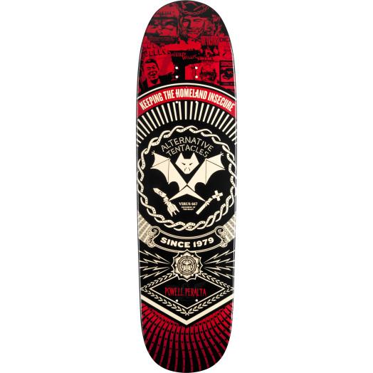 Powell Peralta Guest Artist Winston Smith Blem Skateboard Deck - 8.4 x 31.5