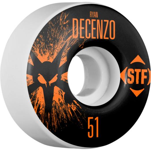 BONES WHEELS STF Pro Decenzo Team Wheel Splat 51mm 4pk