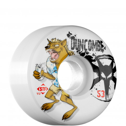 BONES WHEELS STF Pro Duncombe Devil 53mm (4 pack)