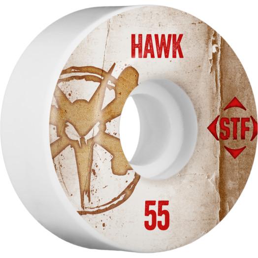 BONES WHEELS STF Pro Hawk Team Vintage Wheel 55mm 4pk