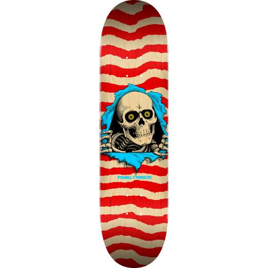 """Powell Peralta Ripper Skateboard Blem Deck Red 244 K20 - 8.5"""" x 32"""""""