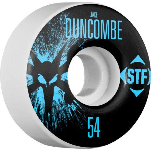 BONES WHEELS STF Pro Duncombe Team Wheel Splat 54mm 4pk