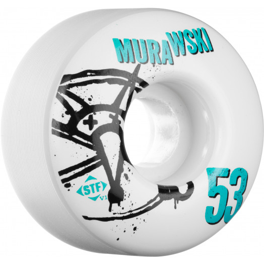 BONES WHEELS STF Pro Murawski Numbers 53mm 4pk