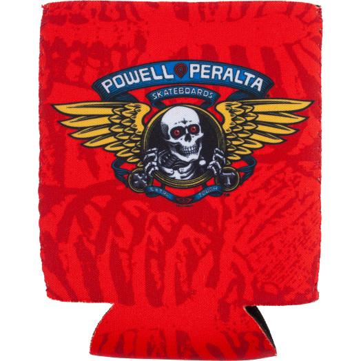 Powell Peralta Winged Ripper Koozie Red