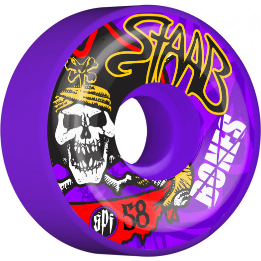 BONES WHEELS SPF Pro Staab Pirate II Wheel 58mm 4pk