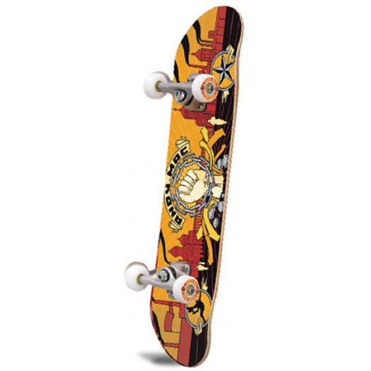 Andy Mac Fist Birch Complete Skateboard - 7.625 x 31.625