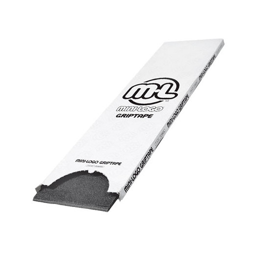 "Mini Logo Grip Tape 8.5"" x 33"" - Black (Box of 20)"