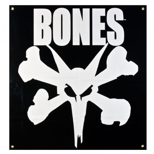 BONES WHEELS Rat Banner