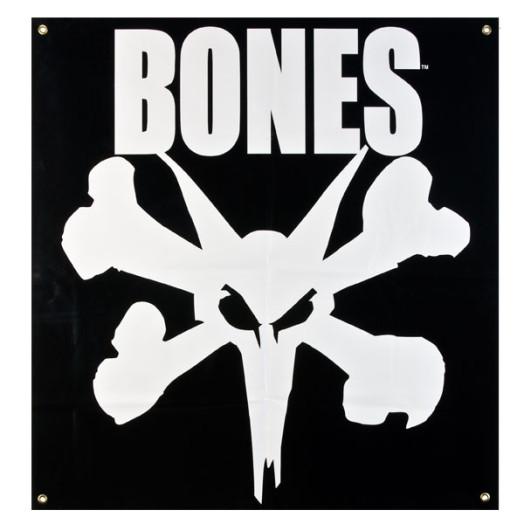 BONES WHEELS Rat Banner