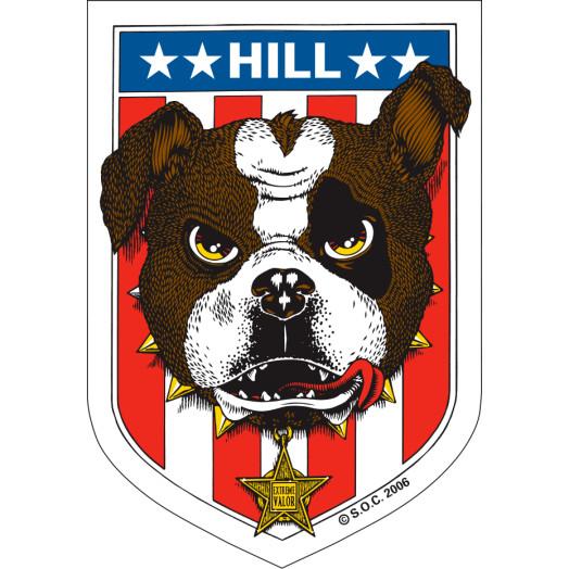Powell Peralta Frankie Hill Bulldog Sticker (20 Pack)
