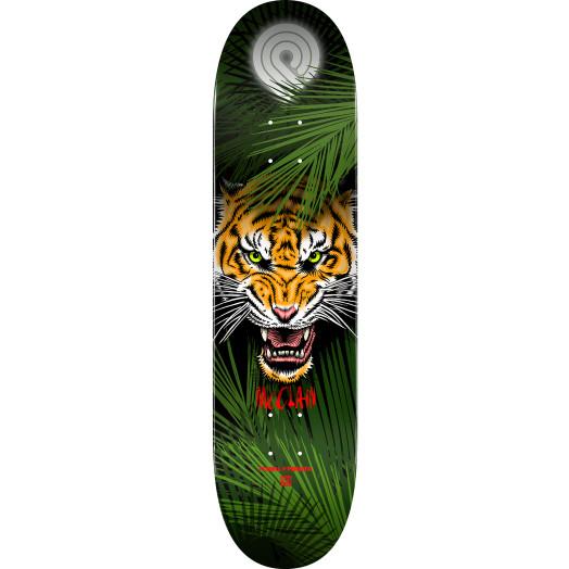 Powell Peralta Pro Brad McClain Tiger Skateboard Deck - Shape 242 - 8 x 31.45