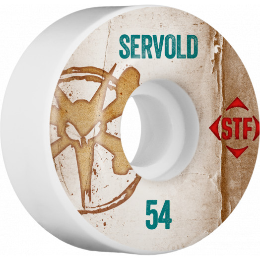 BONES WHEELS STF Pro Servold Team Vintage Wheel 54mm 4pk